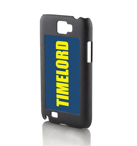 timelord galaxy note 2 phone case