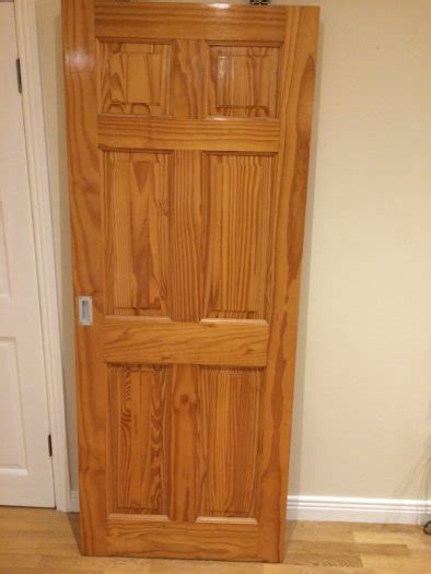 Pine Doors For Sale Cheap 2 varnished pine doors for sale for sale in whitehall
