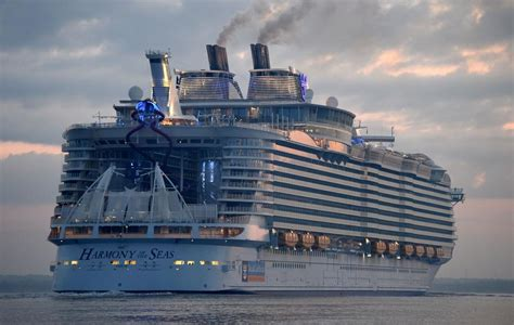 largest cruise ship being built photos glimpses of largest cruise ship ever built