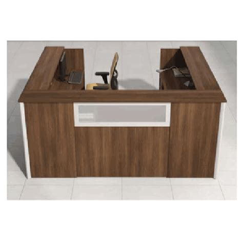 U Shaped Reception Desk Reception Desk U Shaped Workstation 78 Quot X 96 Quot