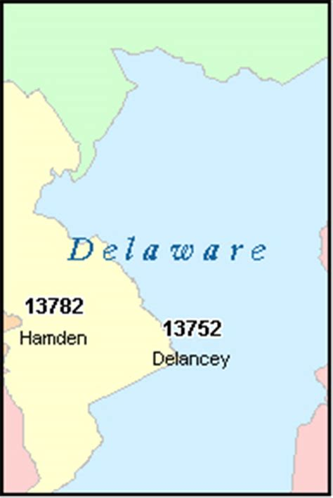 zip code map delaware county pa delaware county new york digital zip code map