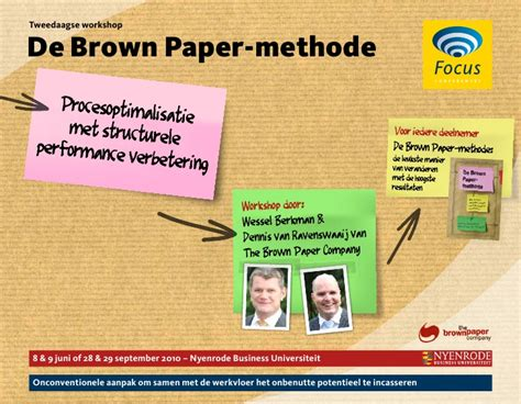 Paper Workshop - brown paper methode workshop neijerode