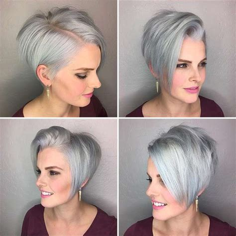 2017 S Hairstyles For Grey Hair by Hairstyle Grey 2017 5 Fashion And