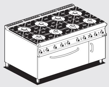 Oven Gas Lotus cooking ranges lotus best italian cooking ranges for food catering equipment