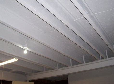 How To Finish A Basement Ceiling Cheap Basement Pinterest Ceiling Finish Options