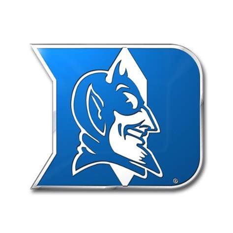 ncaa duke blue devils die cut color automobile emblem