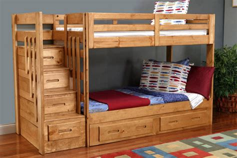 Trundle Bunk Bed With Storage Gardner White Furniture Michigan Furniture Stores