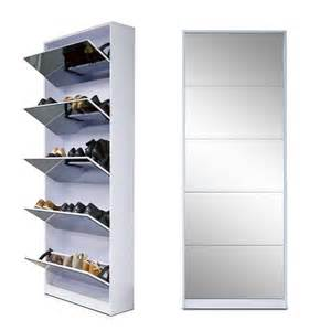 the seasoning products sale mirrored shoe cabinet white