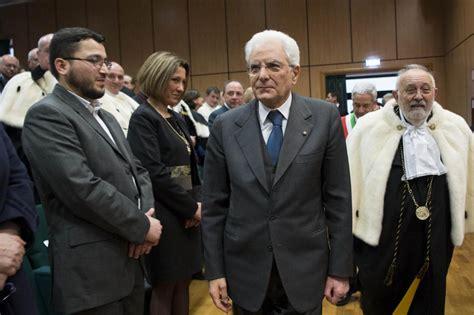 ufficio presidente della repubblica franco iacucci all unical per la visita presidente