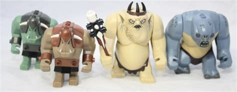 Lego Bootleg Starwars Big Figure Rancor lego wars forum from bricks to bothans view topic review 79010 the goblin king battle
