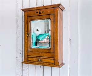 antique bathroom wall cabinet nouveau wood mirror cabinet early 20thc cabinet vintage