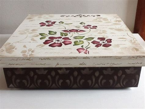 decorate box decorate plain and boring boxes with stencil craft