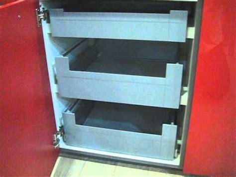 cajones  gavetas interiores en bajo cocina youtube
