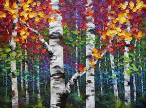 Birch tree art on pinterest tree art birches and grandma moses