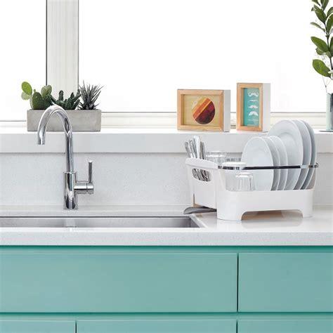 geschirr abtropfgestell design umbra abtropfgestell basin kaufen design3000 de
