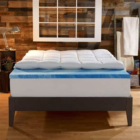 Mattress Topper Review by Sleep Innovations 4 Inch Dual Layer Mattress Topper Review