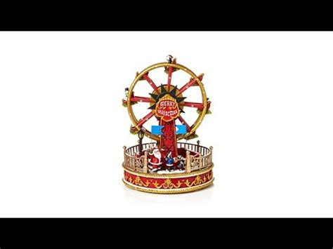 7 ft rotating animated ferriswheel winter musical rotating ferris wheel