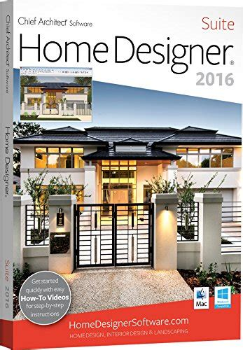 chief architect home design software for mac chief architect home designer suite 2016 0750839018034
