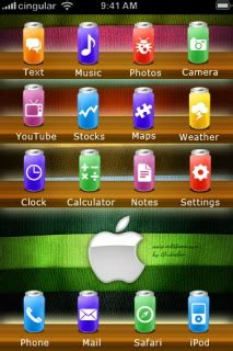 apple themes download for mobile download soda apple iphone theme apple theme mobile toones