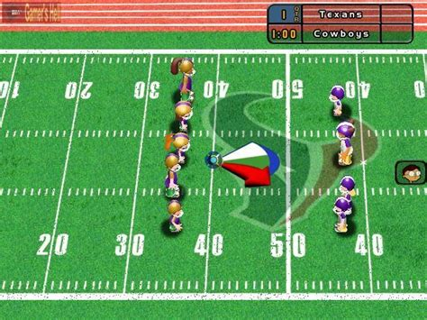 backyard football computer game backyard football 2004 pc screenshot 26304