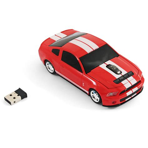 voiture ford souris voiture sans fil ford mustang gt rouge landmice