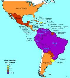 map of america and south america with countries