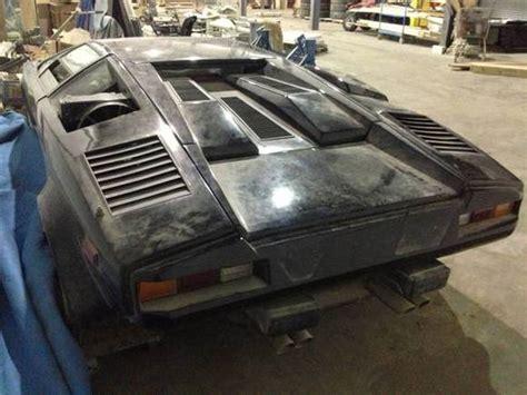 Lamborghini Project Car For Sale by Fright Night 1988 Lamborghini Countach Basketcase Project