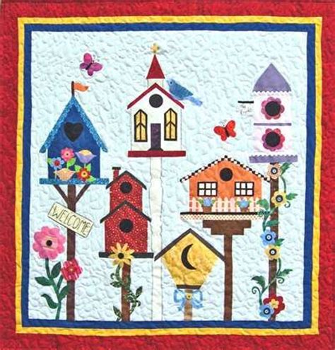 Birdhouse Quilt by 189 Best Birdhouse Quilts Images On