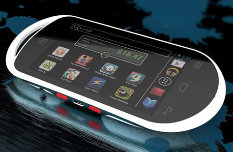 android gaming console mg android 4 0 handheld console arrives for 149