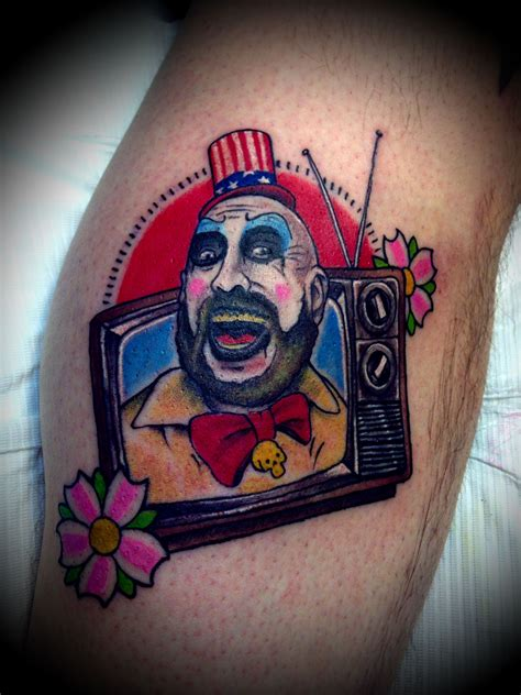 spaulding tattoo captain spaulding search ideas