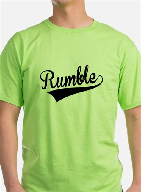 T Shirt Rumble rumble t shirts shirts tees custom rumble clothing