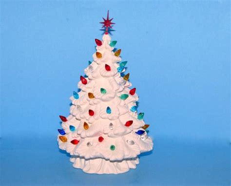 how to paint a ceramic christmas tree small ready to paint ceramic spruce tree by aarceramics