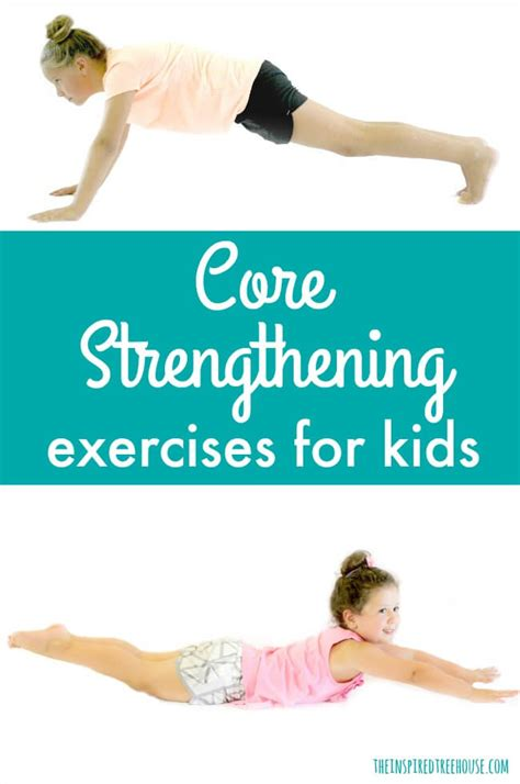 Superman Wall Stickers core strengthening exercises for kids the inspired treehouse