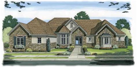 english country home plans english country style house plans 3365 square foot home