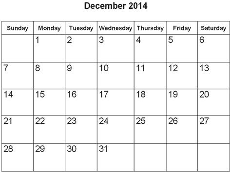 printable december calendar for 2014 printable december 2014 calendar pages page 2 search