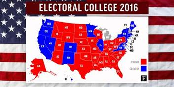 us map with electoral votes 2016 electoral college 2016 results