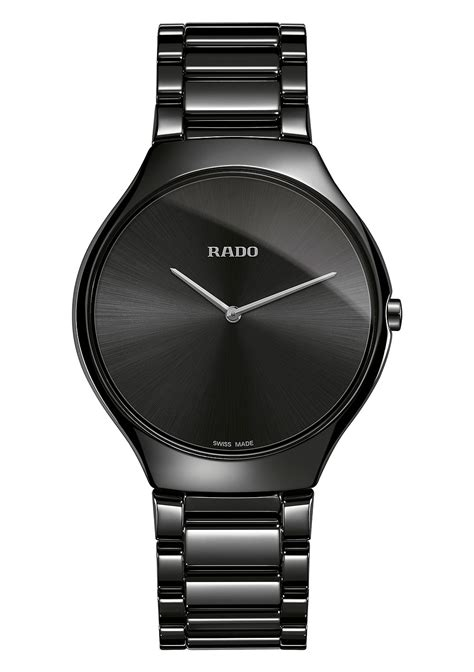 Rado Rado monochrome and minimalist three new rado true thinline