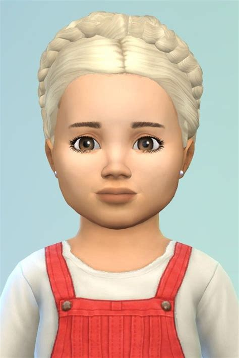 sims 4 toddler eyes cc birkschessimsblog braidedhairwreath for toddler sims 4