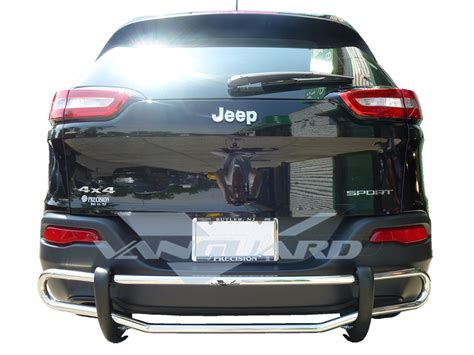 jeep protector vanguard 2014 2016 jeep rear bar bumper protector