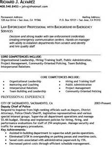 enforcement cover letter exles officer resume template free