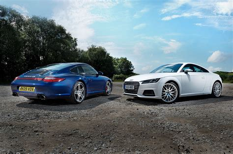 Audi Tt Vs Audi Tts by Icon Buyer New Audi Tts Vs Used Porsche 911 C4s Car