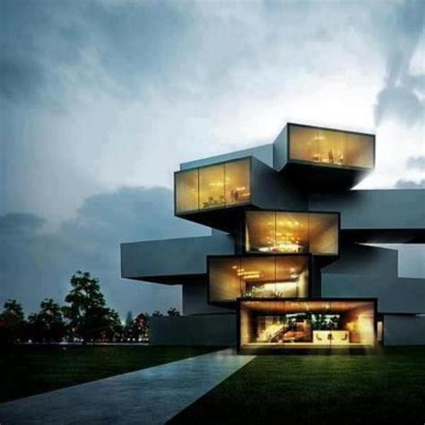 unique house amazing minimalist house exterior design ideas for 2013