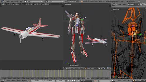 blender tutorial aircraft blender 3d aircraft transformer
