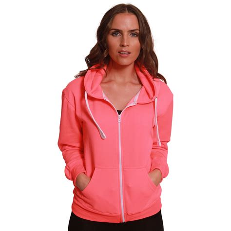 Jaket Zipper Hoodie Sweater Hitam 4 womens plain malaika hoodie fleece sweatshirt coat jumper zip jacket plus size ebay