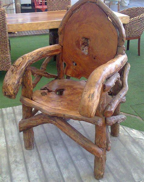 como hacer una silla rustica  nuestro jardin buen gusto en la decoracion