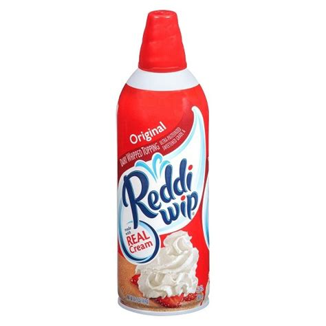 what can you do with whipped cream in the bedroom reddi wip original whipped cream 6 5oz target