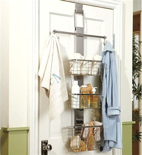 over the door bath storage modern storage and