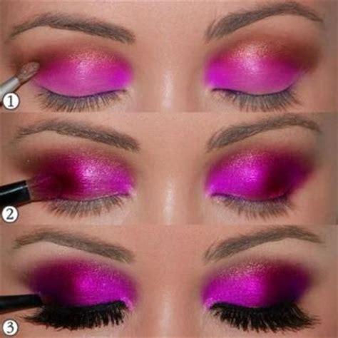tutorial makeup eyeshadow pink hot pink eyeshadow tutorial amazingmakeups com