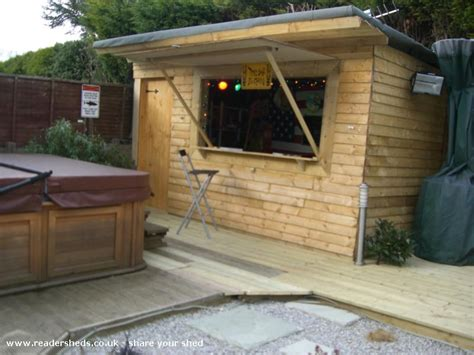 Shed Bar by Lili S Bar Pub Entertainment From Back Garden Owned By