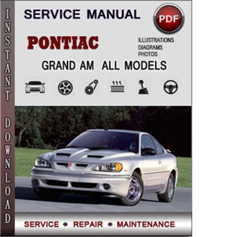 service repair manual free download 2003 pontiac grand am instrument cluster pontiac grand am service repair manual download info service manuals